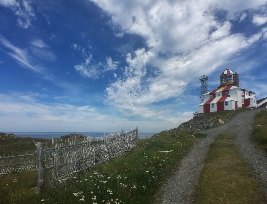 I took this shot July 2016 in Cape Bonavista, Newfoundland. Last month I entered it into Air Canada's 'Favourite Places to Be' Canada150 photo contest and I was one of the winners of 2 return trip air tickets to anywhere in Canada that Air Canada flies. Wohoo! Sky Architecture Lighthouse Landscape Landscape_Collection Photo Contest