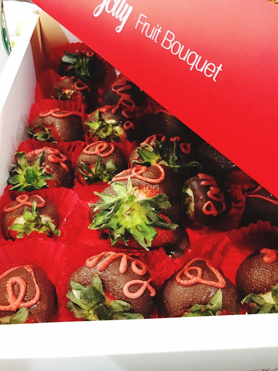 Jolly Strawberry Chocolate