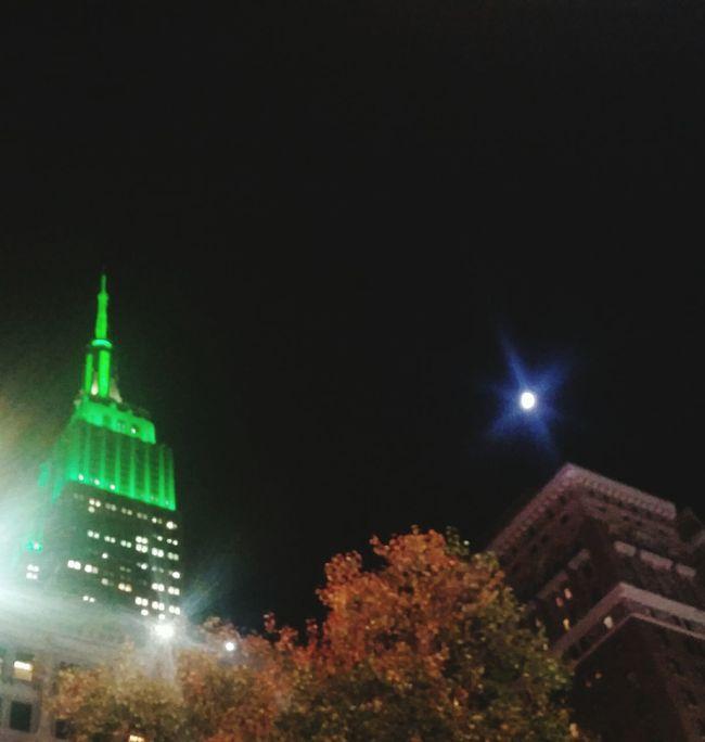 Moon Over Manhattan
