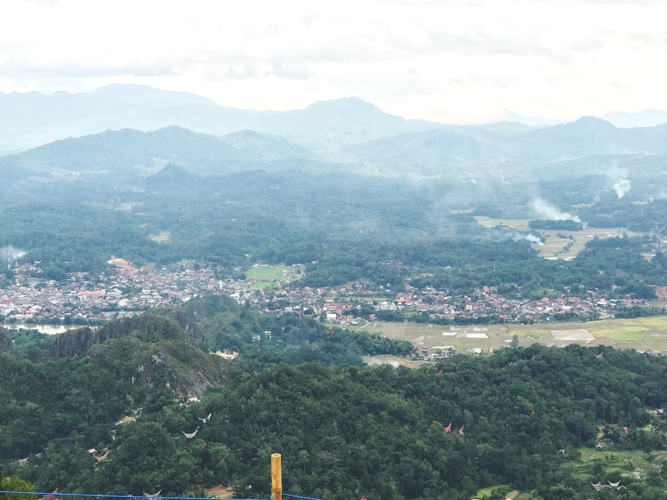 Negeridiatasawan Toraja Beauty In Nature Village Mountain Clear Sky Toraja Utara Nature