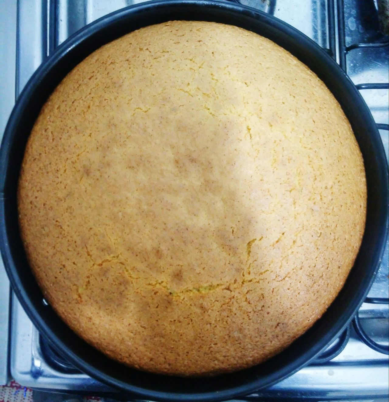 Homemade Cake Vanilla Pastel Horneado