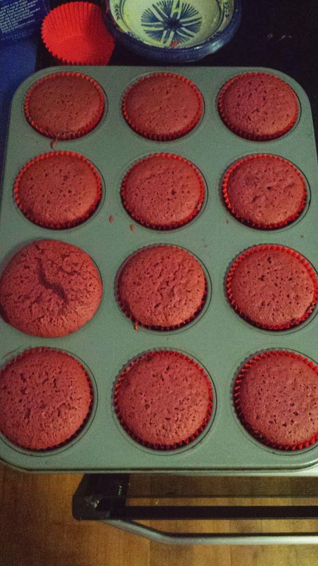 Freshly Baked Redvelvetcupcakes Delicious ♡ Yum Satisfying