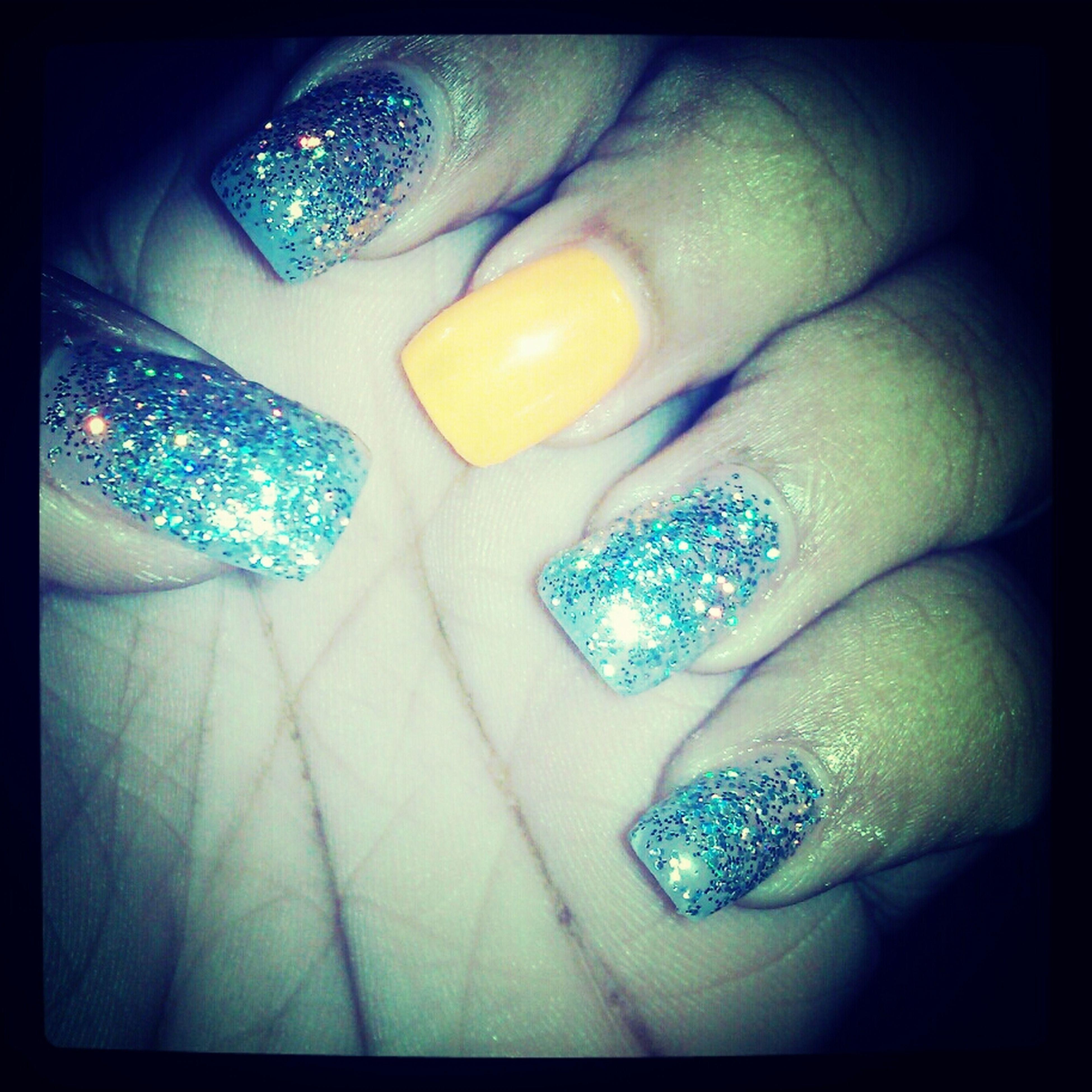 just got my nails done #spoiled #myownmoney #orange