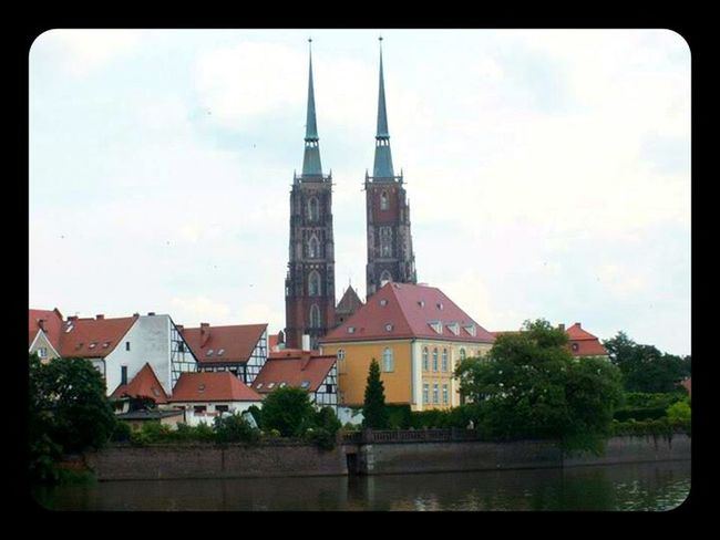 Ostrów Tumski and Cathedral in Wroclaw, Poland Wroclaw Architecture Cathedral