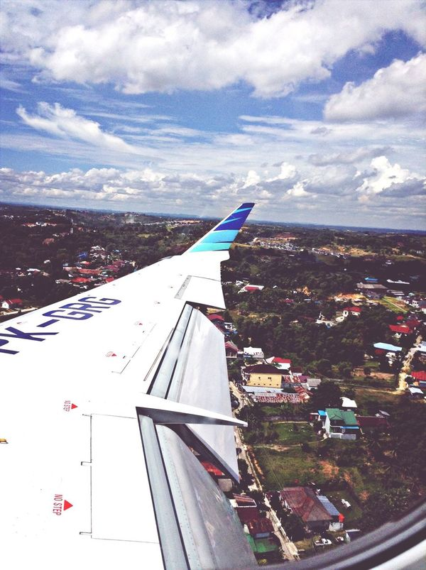 Touchdown Balikpapan ?✈️ Airport On A Holiday Plane Vacation Time