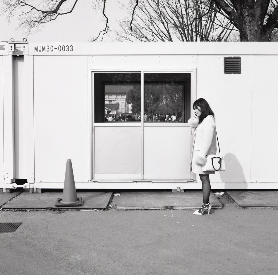 One Person Street Photography EyeEm Best Shots Hasselblad 500C/M Streetphotography Blackandwhite Tokyo Street Photography Monochrome Film Light And Shadow Film Photography Hasselblad Monochrome Photography