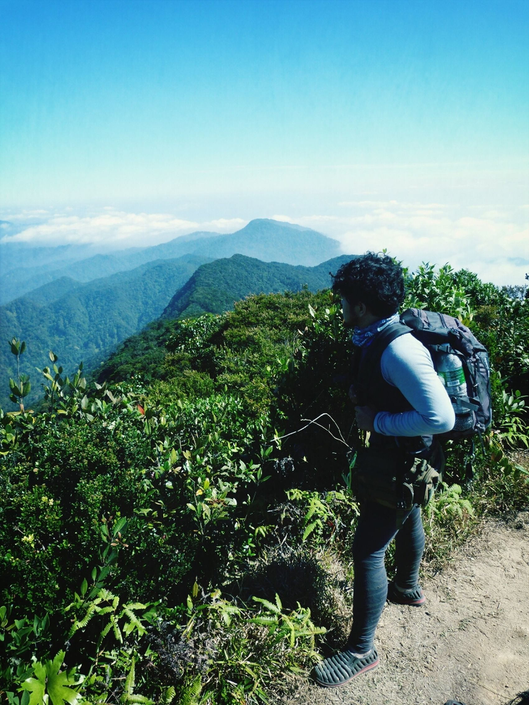 Relaxing Hiking Gunung Rajah Visit Malaysia 2014