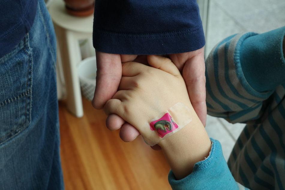 Beautiful stock photos of father, Bandage, Bonding, Boys, Father