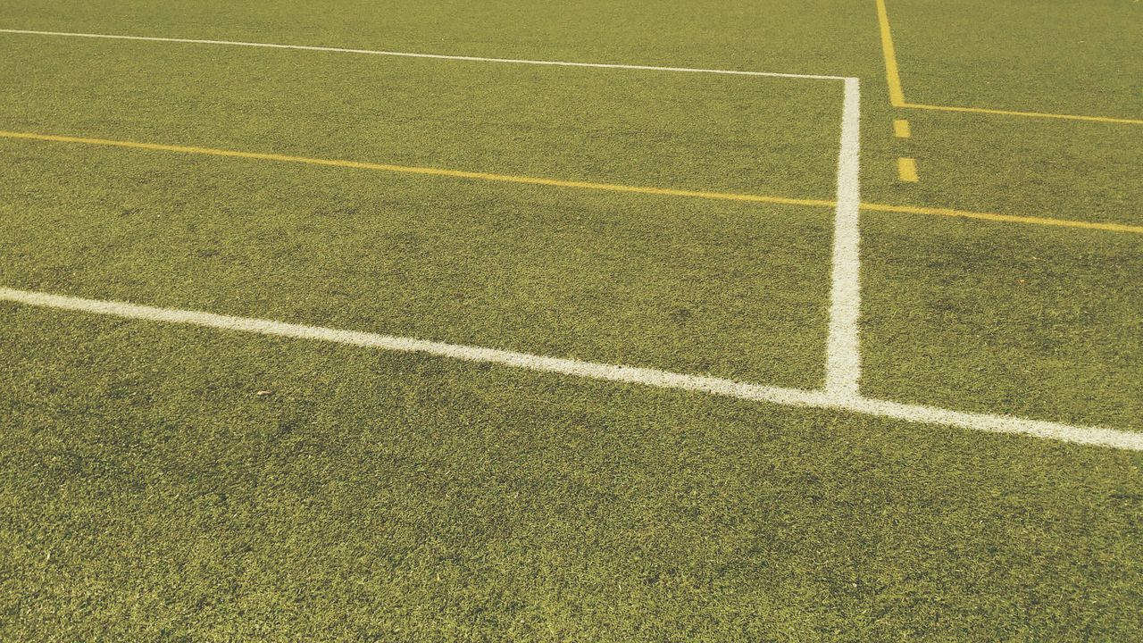 Sport Soccer Field Playing Field Soccer No People Green Color Full Frame Grass Outdoors Backgrounds Day Competitive Sport