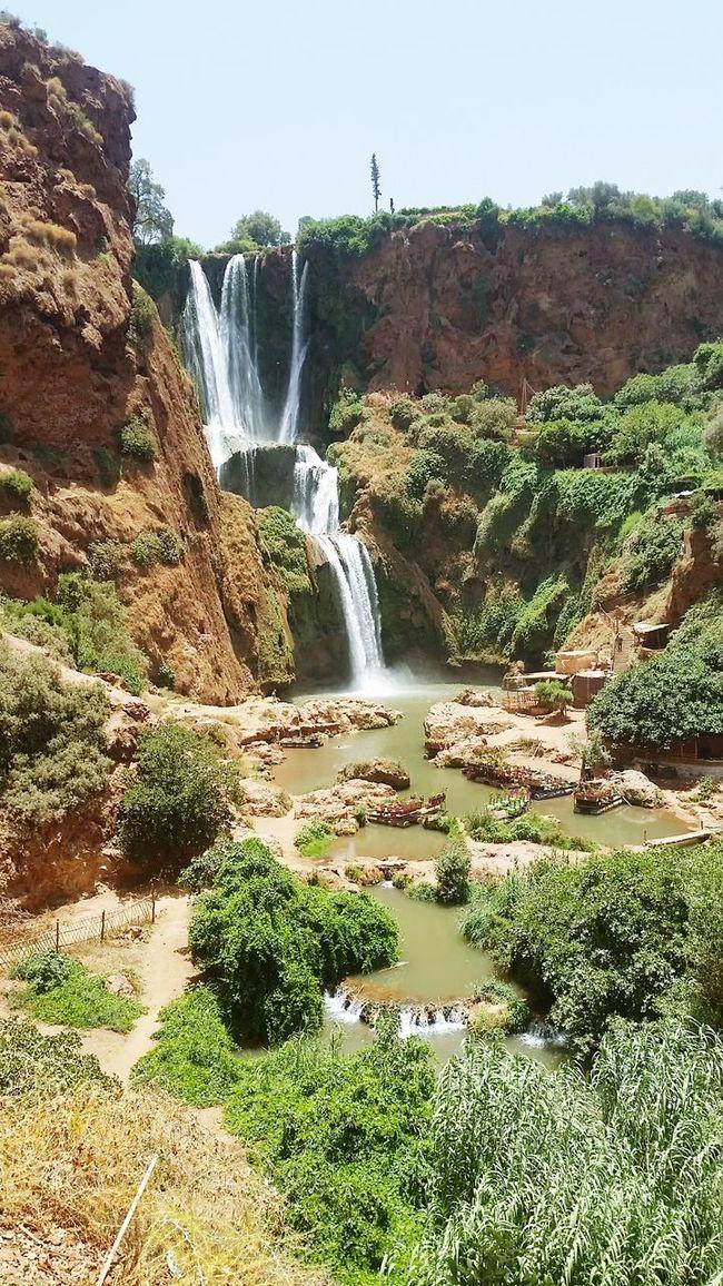 Taking Photos Hello World Promenade Trip Nature Cascades Voyage Ash Paysage Vaccances Marocco Maroc Ouzoud Falls Ouzoud