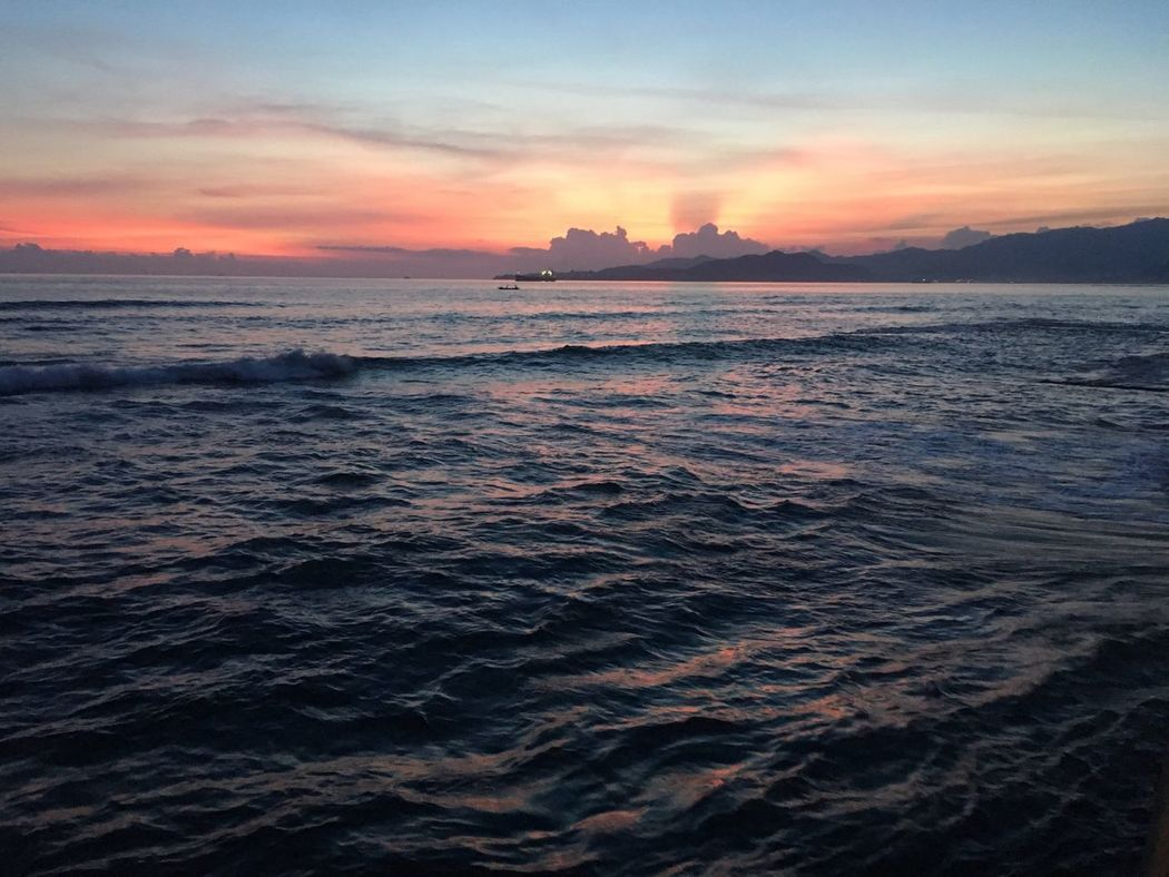 Sea Sky Beauty In Nature Nature Sunset Scenics Tranquil Scene Cloud - Sky Water Tranquility No People Outdoors Rippled Dramatic Sky Waterfront Horizon Over Water Beach Wave Dramatic Day