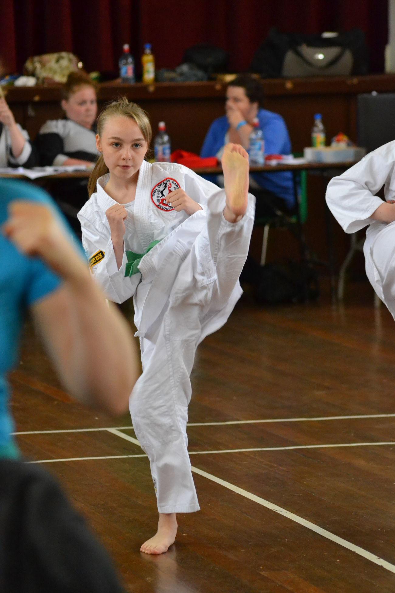 Daughter Kids Children Wado-ryu Karate Kickboxing Aïkido Sport Sports Photography