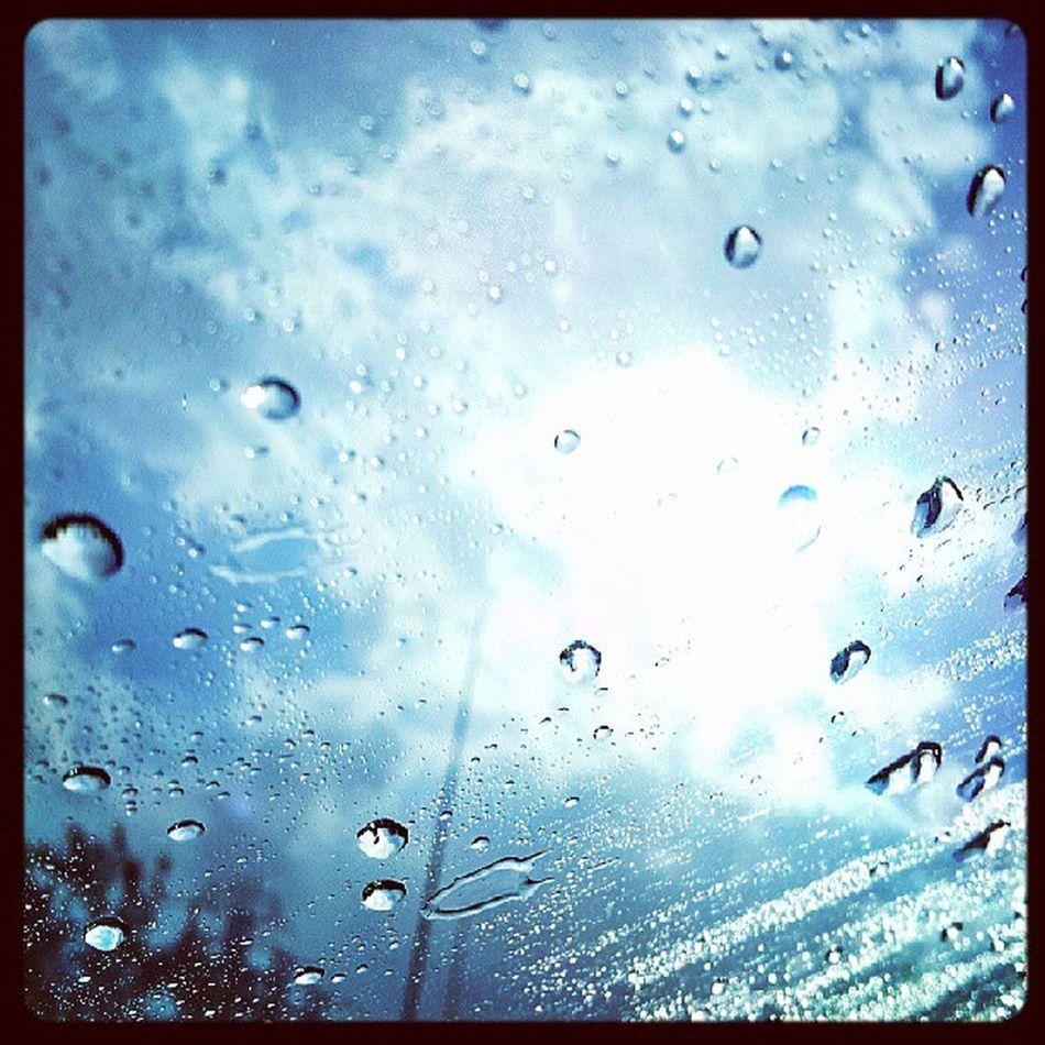 Sunny and raining... Onlyinrochester