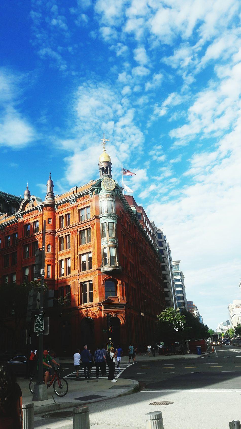 Redbricks Buildings & Sky Washington, D. C. Amazing View Thats Me☺