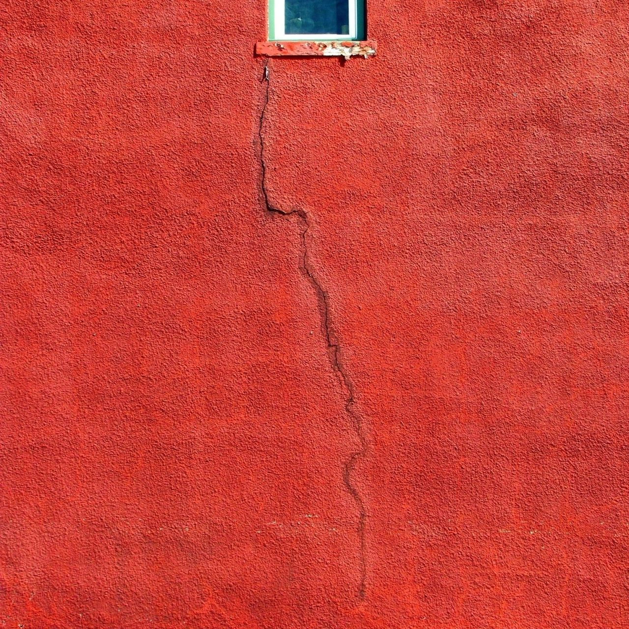 Backgrounds Building Building Exterior Close-up Color Copy Space Day Full Frame Minimal Minimalism Minimalist Architecture No People Outdoors Red Textured  Window