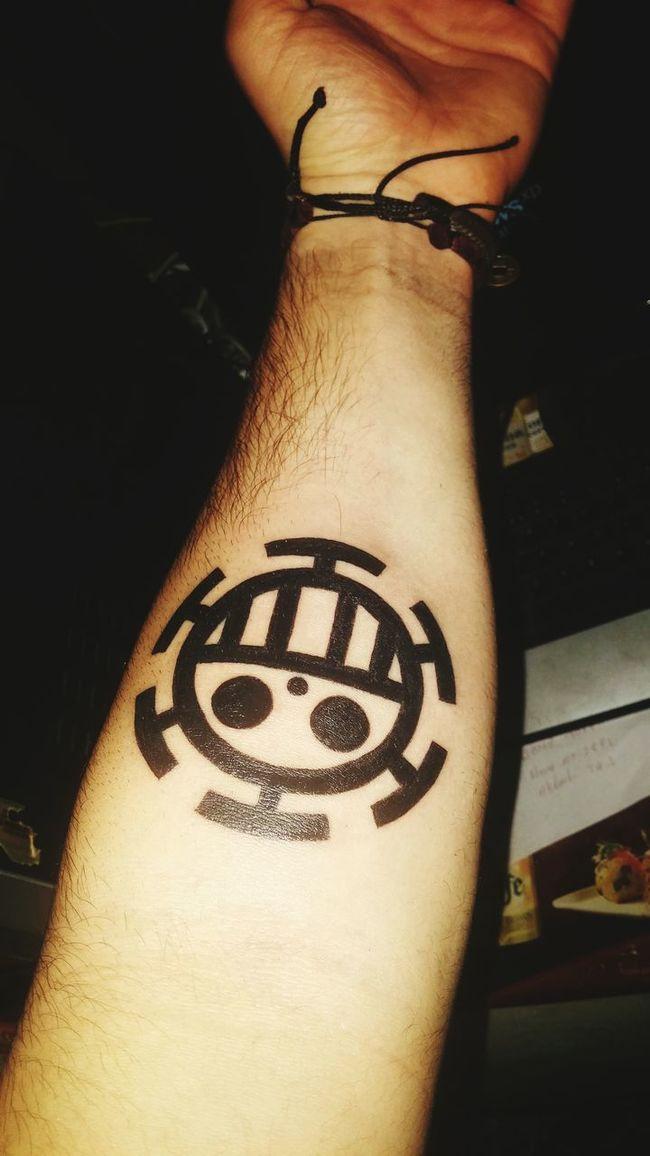 Tattoo Summer Taking Photos Amazing Today's Hot Look Popular Photos Snapchat EyeEm Best Shots Eye Em Crazy Boy  Trafalgar Law  One Piece Tattoos Tattoo ❤ Tattoomodels Kaizoku
