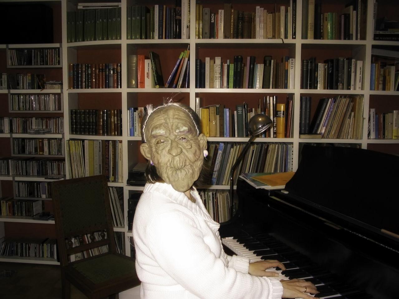 Beautiful stock photos of halloween, Arts Culture And Entertainment, Book, Bookshelf, Chair