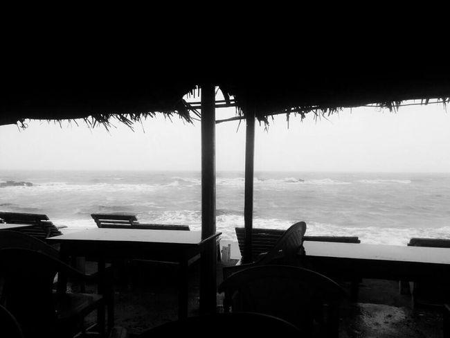 Beach Life Is A Beach EyeEm Nature Lover Black & White Bnw_friday_eyeemchallenge