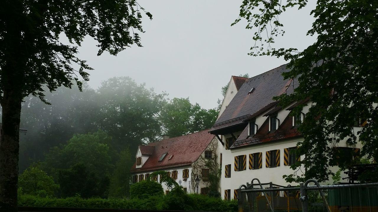 misty rain clouds at the Mindelburg Rainy Days Historical Building Mindelheim Castles Landscape Taking A Trip Enjoying Life Tadaa