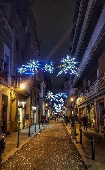 Enjoy The New Normal Illuminated Christmas Christmas Lights Christmas Decoration Night City Christmas Tree Architecture Lighs And Shadows From My Point Of View Capture The Moment Iluminated Illusion Christmas Time Christmas Ornament Christmas Around The World Christmas Decorations