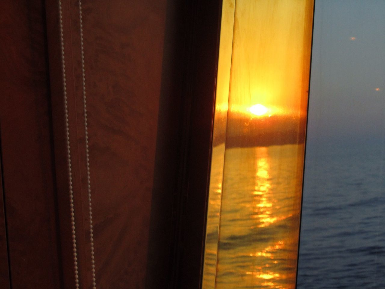 Sunset onboard m/s Fantasia outside Barcelona Taking Photos Things I Like Check This Out That's Me Relaxing 😀 Sunset Sunset_collection Seaset Sunset At Sea. Sunset At Sea, Cruise, Reflections Special👌shot EyeEm Best Shots Week On Eyeem Feel The Journey Cruise Ship 43 Golden Moments