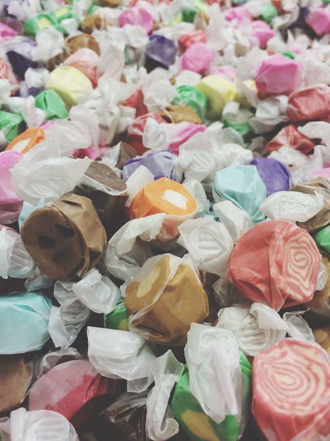 Found On The Roll Taffy Candy Sweets