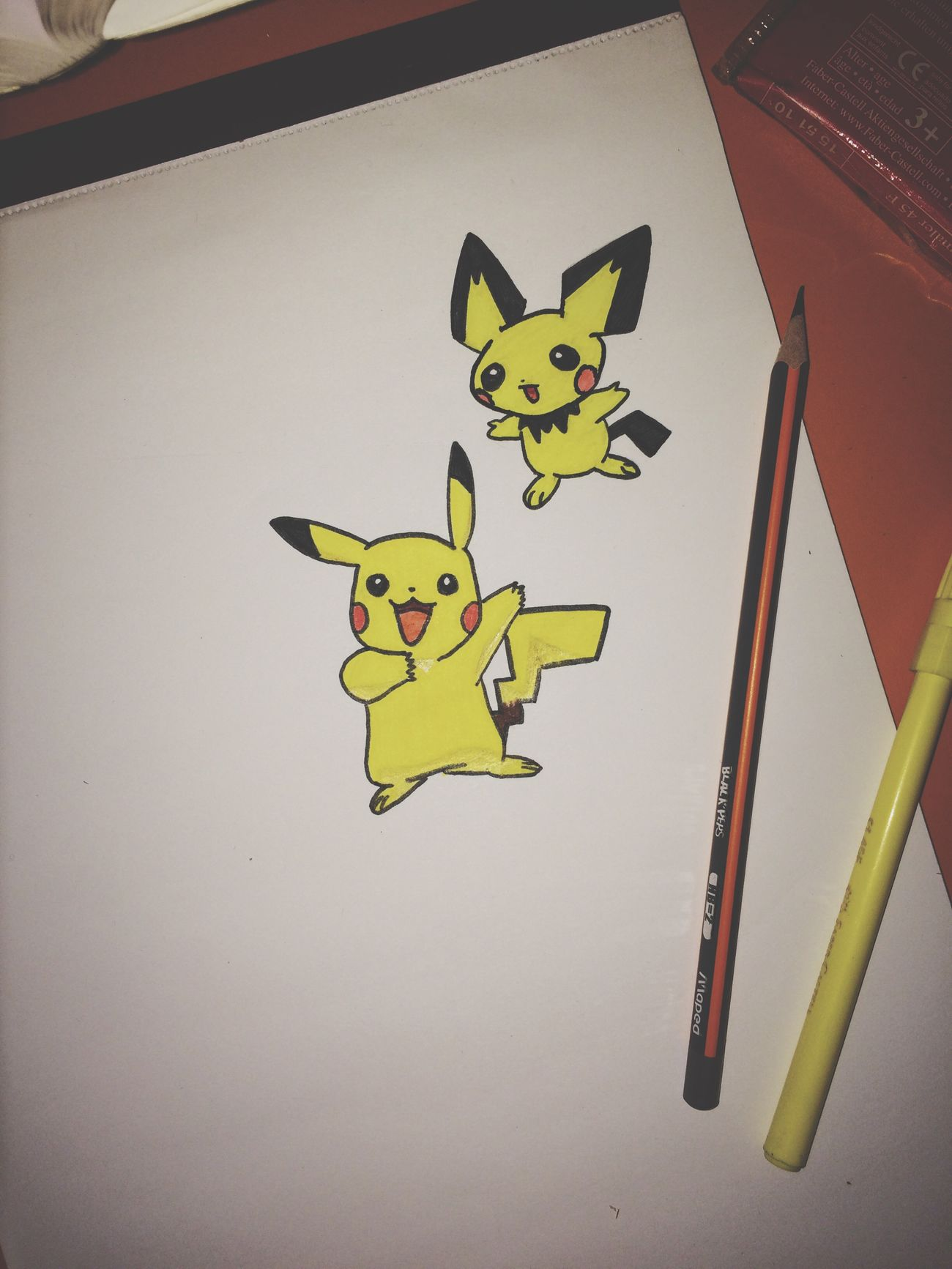 Pikachu Pokémon Drawing Art