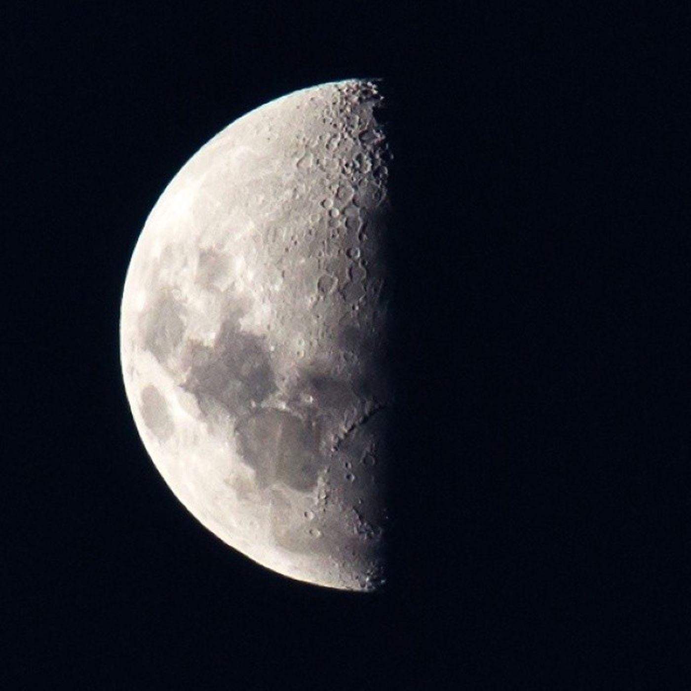 Half Moon   Meia Lua Halfmoon Meialua Landscape Sky Saopaulo SP Brasil Brazil Moon Lua  Céu Noite