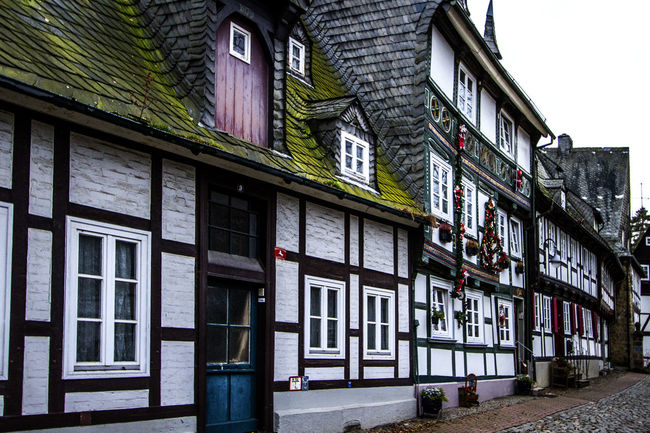 Architecture Building Exterior Built Structure City City Life Colorful Day Exterior Germany Goslar Goslar Germany Long Narrow No People Old Town Outdoors Tourism Window