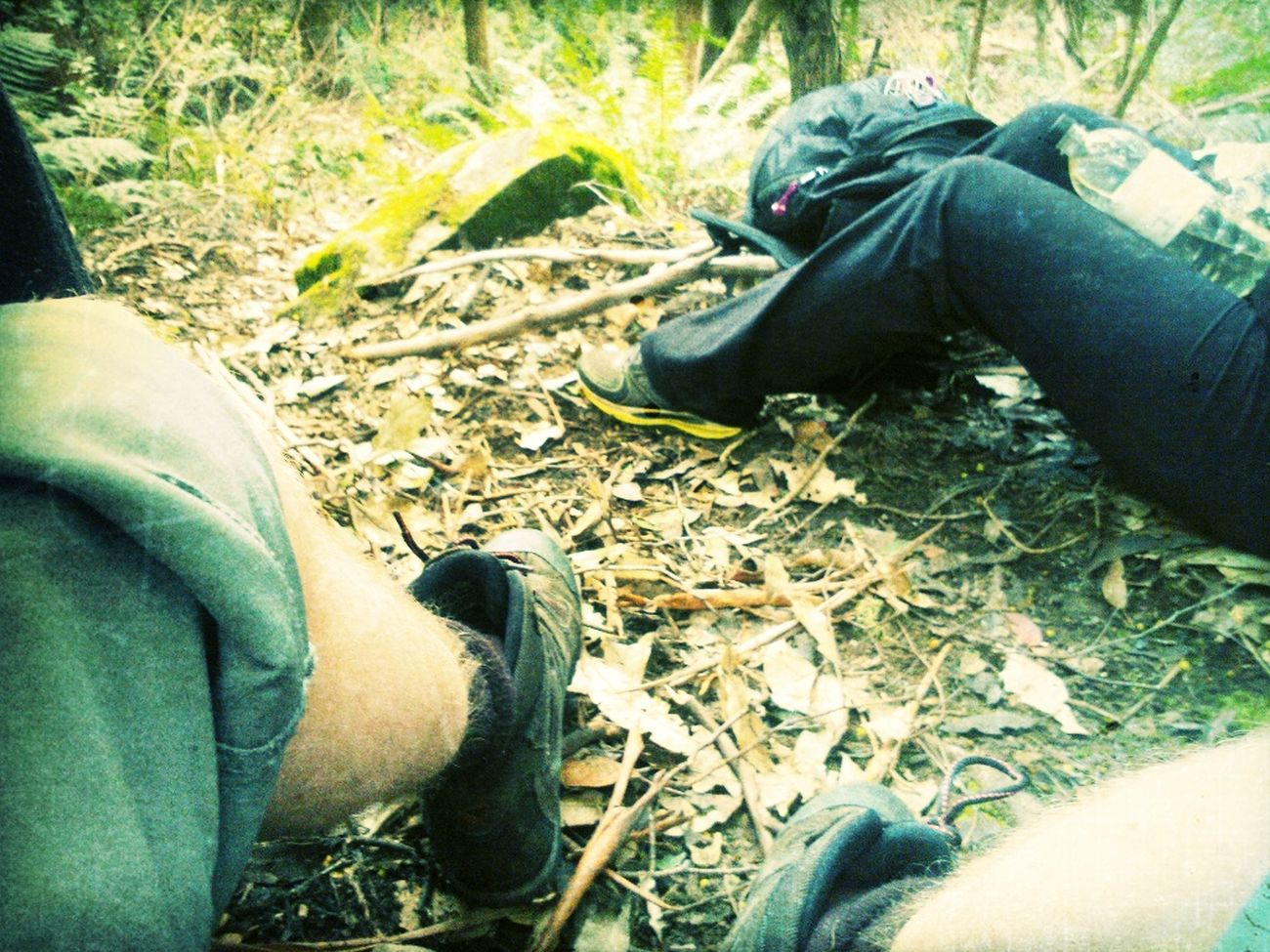 Hiking  Feet  Mountain