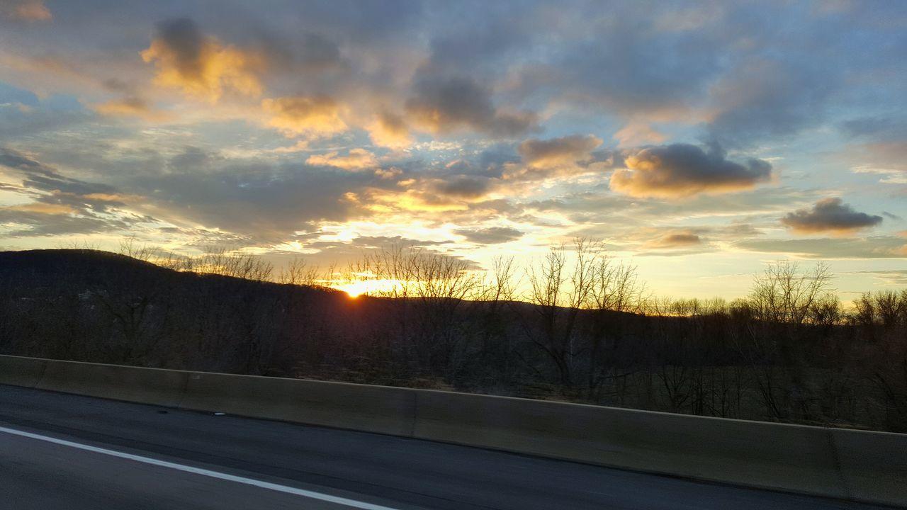 Sunrise Sunrays Scenary Horizon Samsung Note 5 Ontheroad I-78
