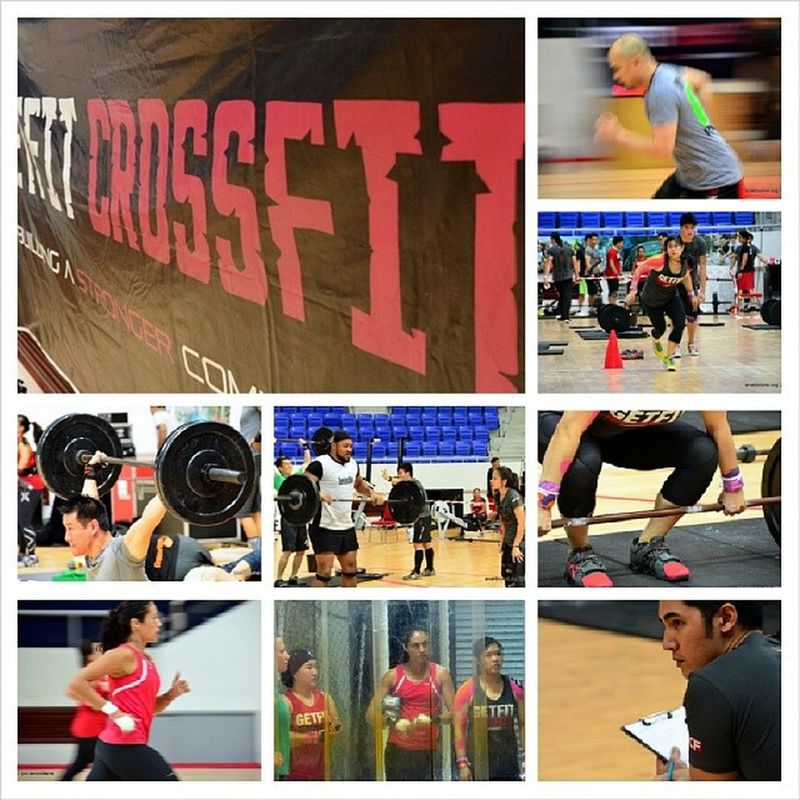 Dropped by the Indoor Stadium this morning to catch some of the action at the 2013 GFCF BattleRoyale . The tournament continues this afternoon so do drop by folks! Crossfit Sport Move BruneiMoveWeekend