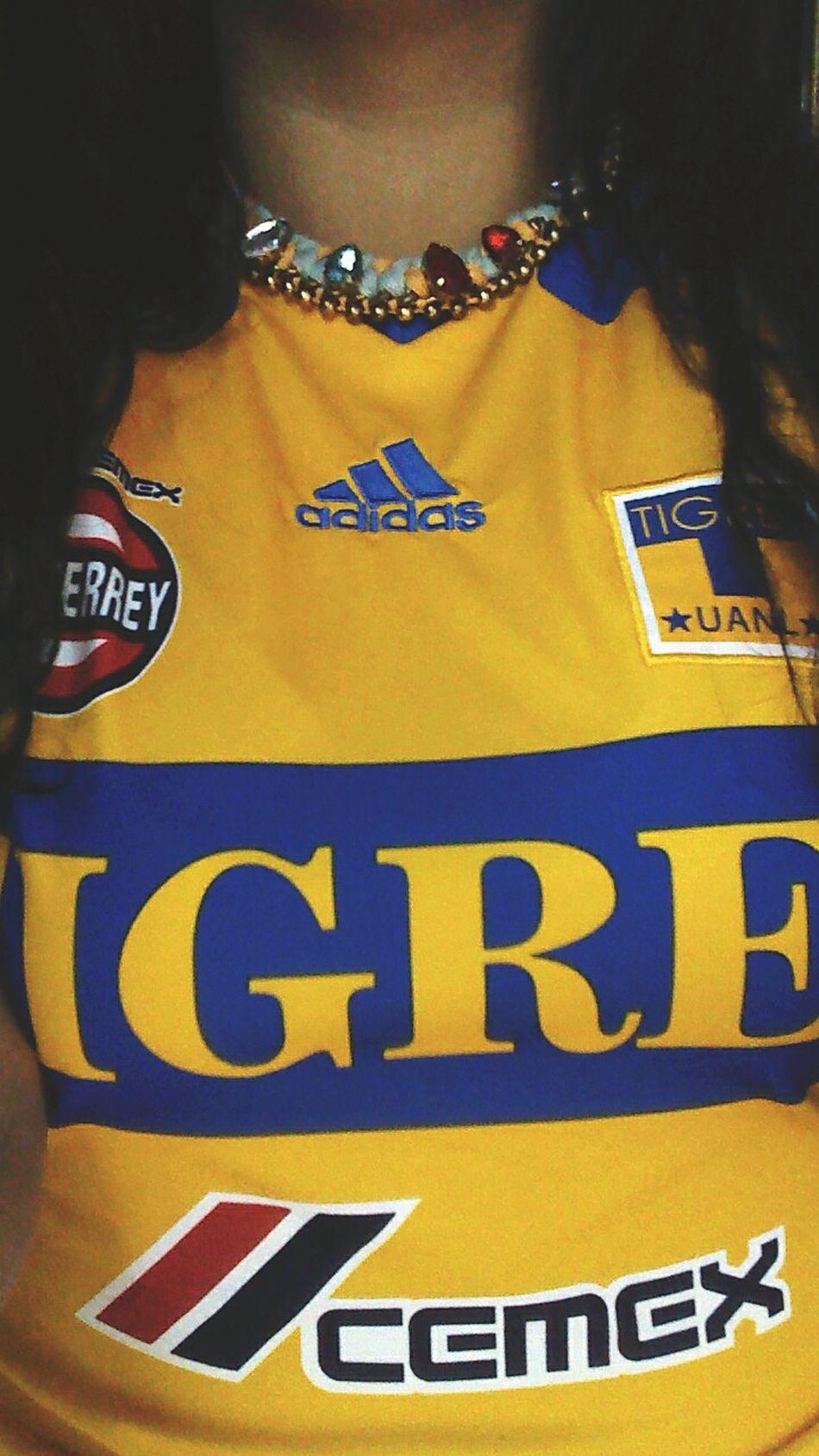 I'mtigres Tigres UANL TIGRES❤ Jersie Clasico Mty Ily💕