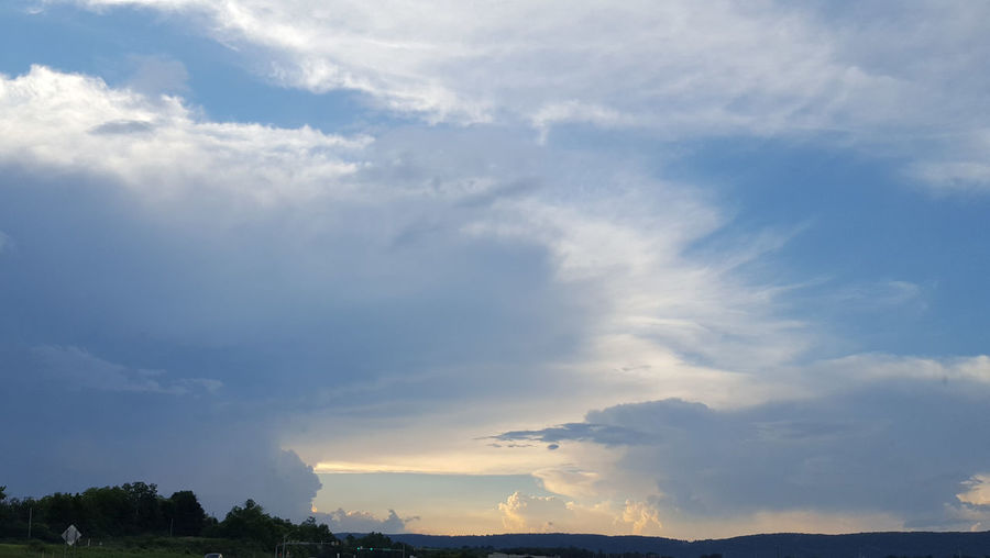 Cloud - Sky Water Nature Storm Cloud Power In Nature Outdoors No People Tree Sky Thunderstorm Mountain Day Beauty In Nature Cyclone