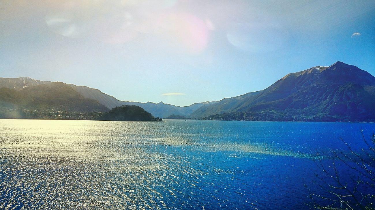 Lake Como On The Train Sunny☀