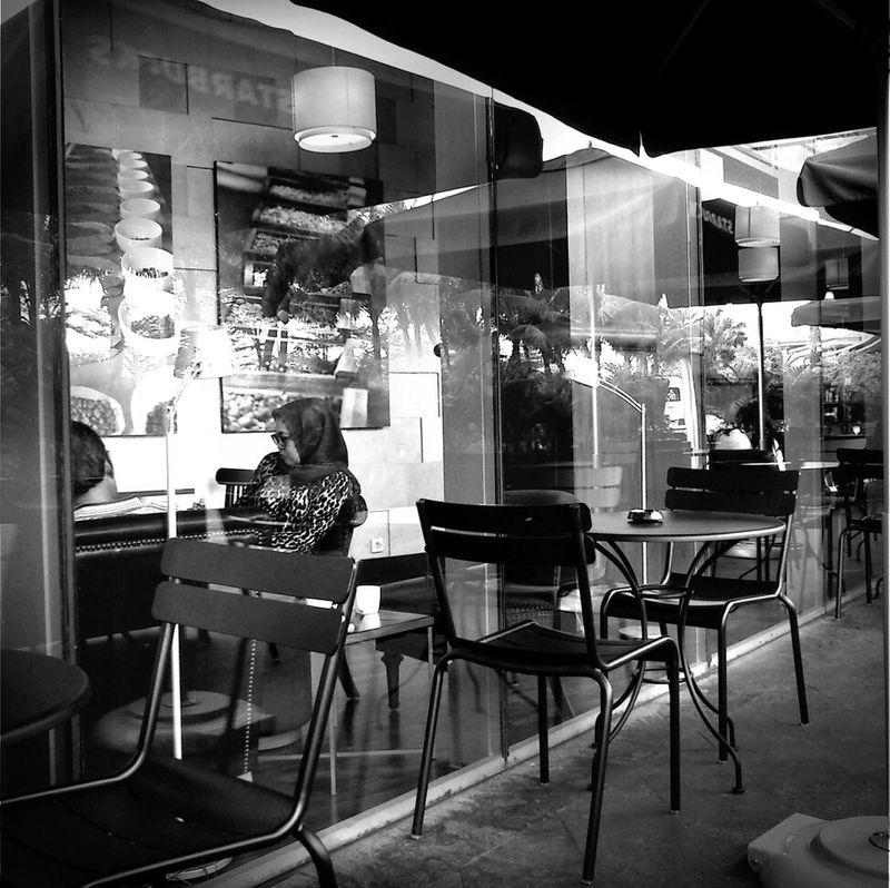 Coffee Candid Blackandwhite Starbucks
