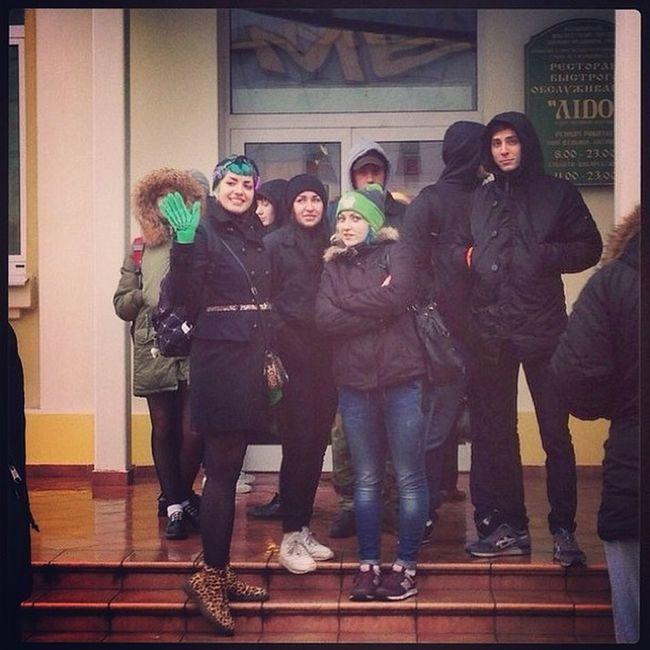 Понаехали в Минск, ждем открытия лiдо