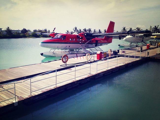 Seaplaneharbour Starting A Trip