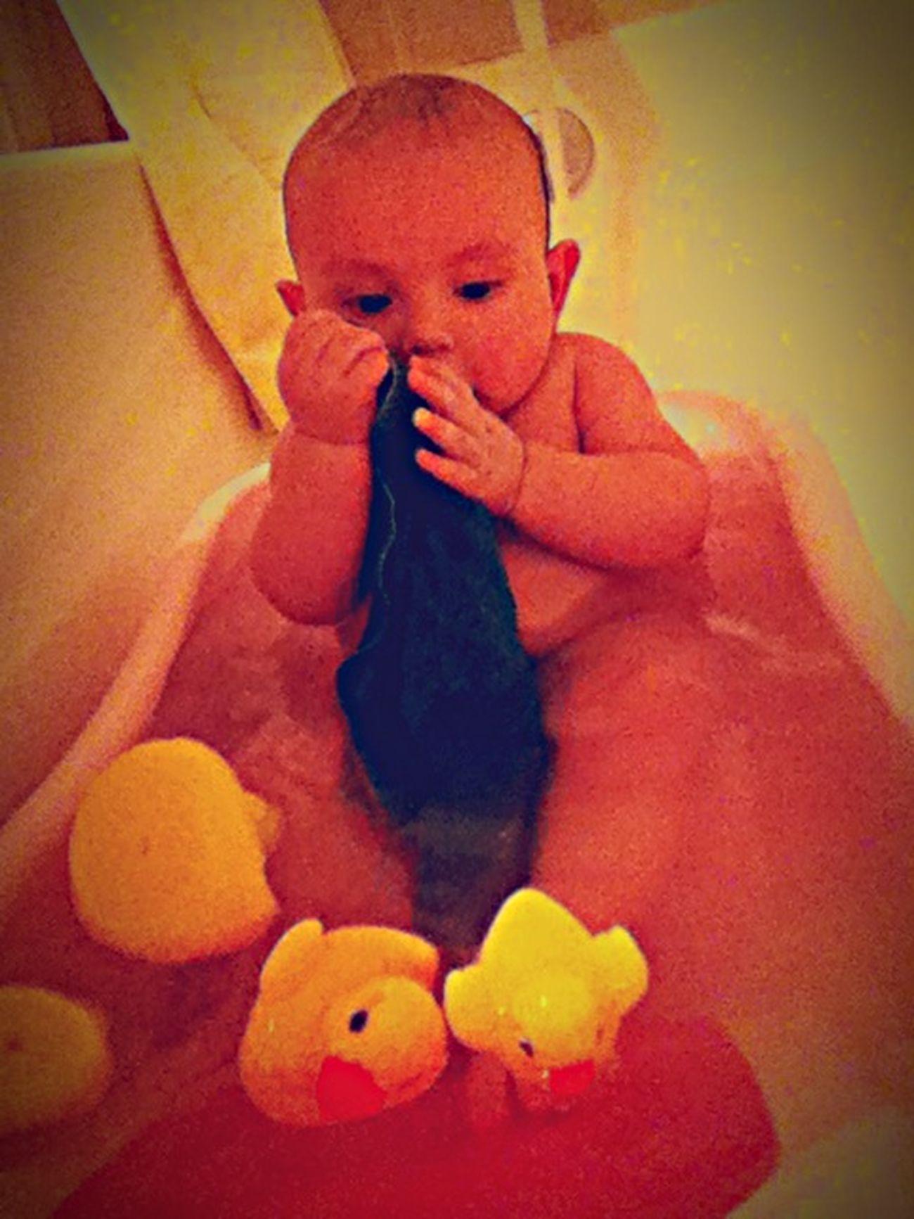 Bath time for the big boy. ?? Mybabyboy❤️❤️❤️❤️ Bathtime Krystopher