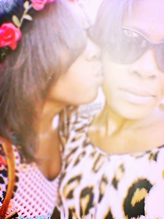 Kisses MommyLove Model Photography on the left is me and on the right is my mom happy mothers day❤❤????