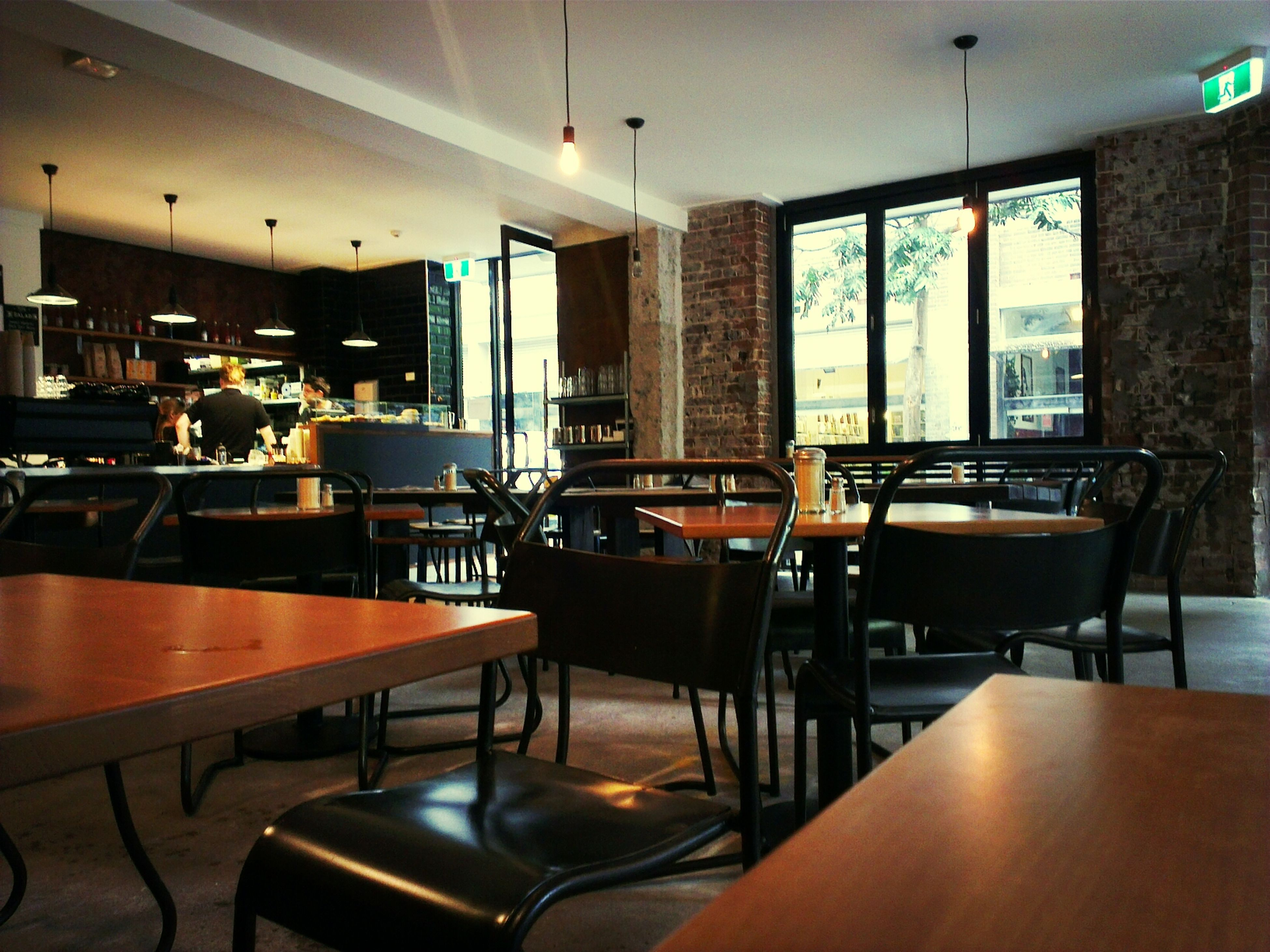 Rainy Day means i have this cafe all to myself!