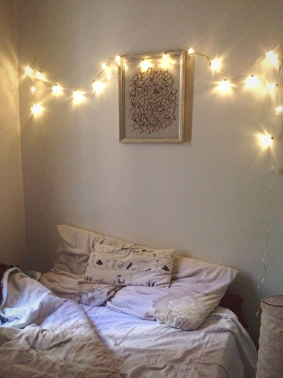 Always Be Cozy Light Bedroom Cozy Bed Indoors  Illuminated No People Night