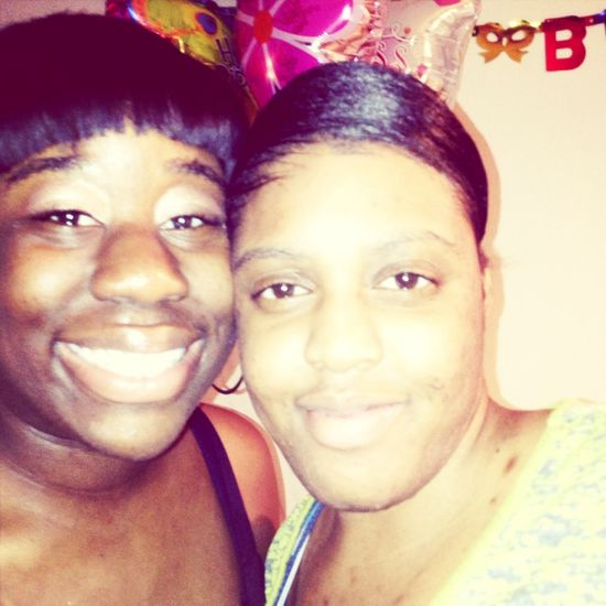 Me And My Cousin Robena