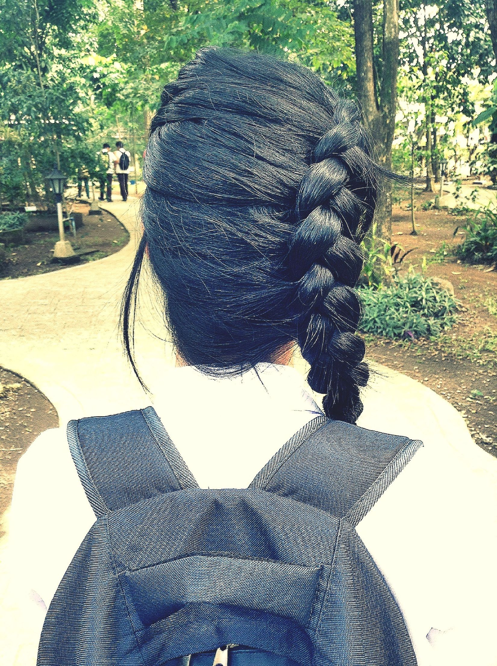 My friend's braided hair. Hanging Out Enjoying Life Check This Out Friends