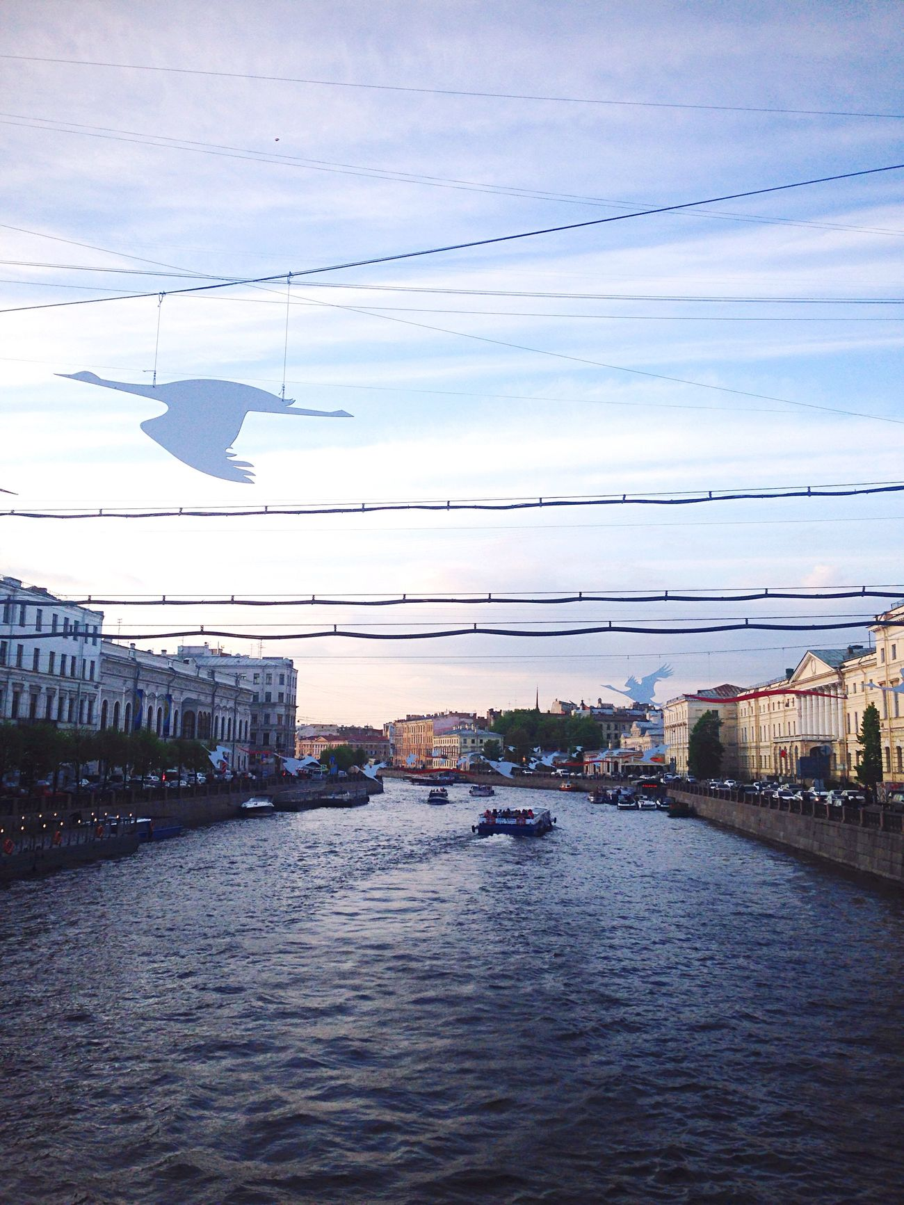 Санкт-Петербург река нева Saint Petersburg Nehir River Russia Rusya Gokyuzu Sky