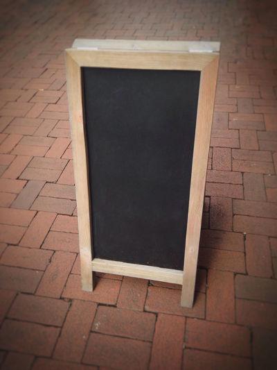Advertising Background Black Blackboard  Blank Board Customer Stopper Empty Marketing No People Outdoors Sandwich Board Sign Street