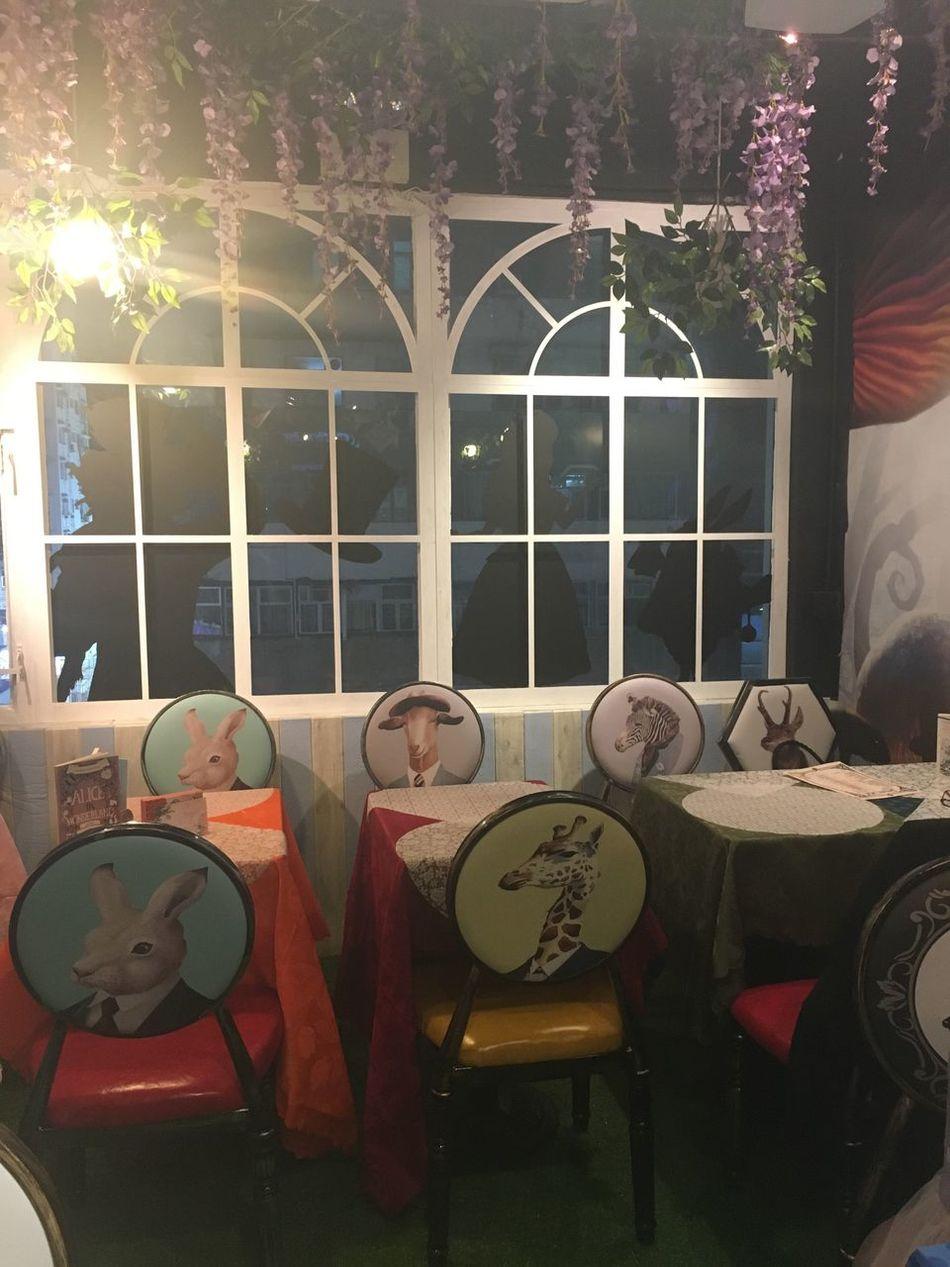 Alice In Wonderland Aliceinwonderland Chair Guitar Music Indoors  Table Musical Instrument No People Day