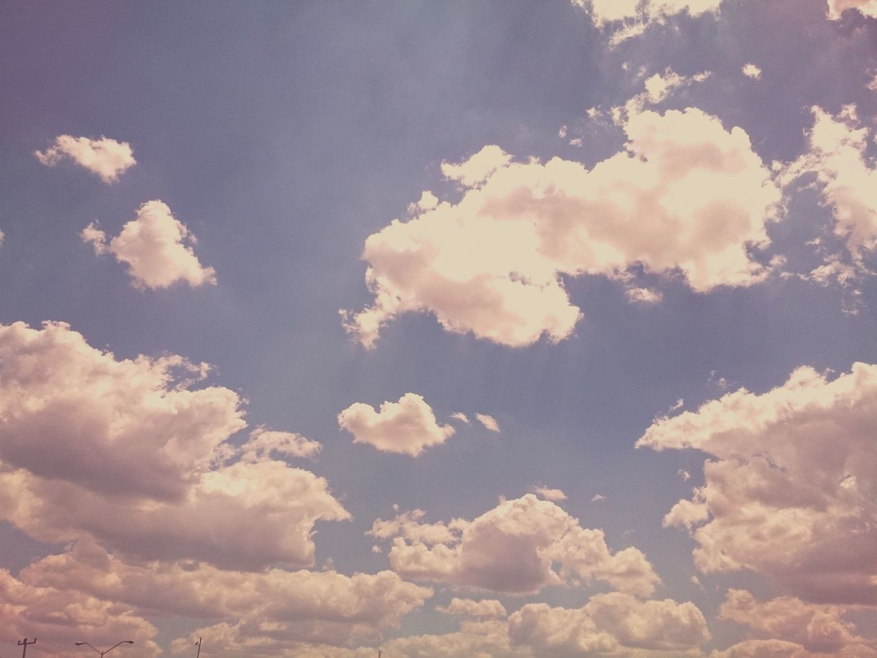 Cloudy sky. Outdoors No People Xperia ZL Mobile Photography Mérida Yucatán Landscape Blue Sky Yucatan Mexico Cloudy Sky Clouds & Sky