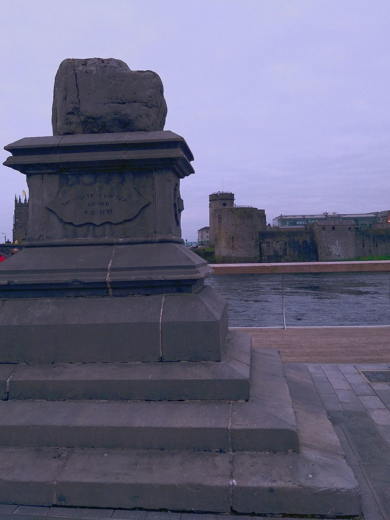 Limerick 2020 Architecture History Statue Sculpture City Water No People Outdoors Travel Destinations