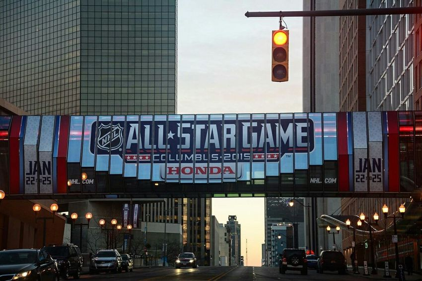 They are coming... Columbus Hockey All-star  NHL Cbj